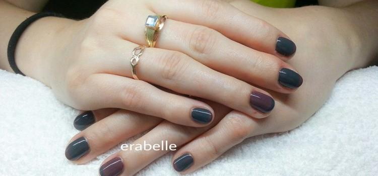 Szürke és barna shellac | Grey and brown shellac